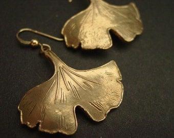 Ginkgo (Large) - Earrings