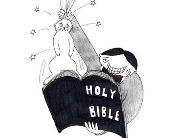 biblical magic CARTOON