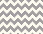 Sale fabric, End of the Year Sale, Fabric by the yard, 6 Dollars/yard, Chevron fabric, Gray Medium Chevron, Riley Blake, Choose your cut