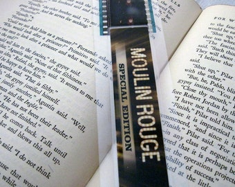 Moulin Rouge Recycled Film Bookmark