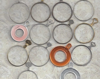 14 optical lenses.. . some very different.. make your own jewelry