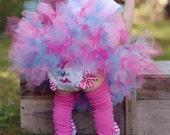 1st Birthday Girl Bloomers - 1st Birthday Diaper Cover - Baby Girl Diaper Cover - Tutu Diaper Cover