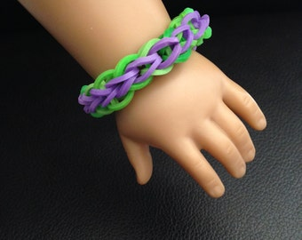 "Rubber Band Doll Bracelet ~ Fits 18"" Dolls(American Girl, Our Generation, etc)"