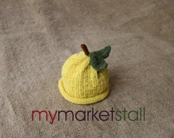 Lemon Hat -0-3 Months - 6 - 18 Months