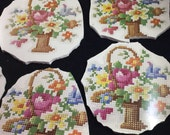 6 Mosaic Supply Large Petit Point Broken China Mosaic Focals