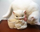 Adorable Hull Kitten Planter Mid Century