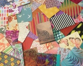 ATC / pocket letter paper backgrounds - 18 pieces