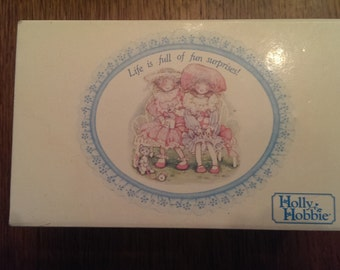 Vintage Holly Hobbie Music Box Jewelry Box