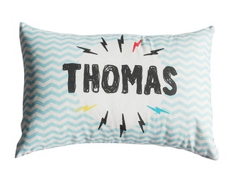 Lightning Bolt Personalised Cushion