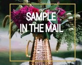 SAMPLE in the MAIL Save the Date or Wedding Invitation  - Select Any Design