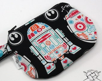 Waterproof Mouth Guard Case Roller Derby Star Wars Sugar Skull Zipper Closure Made To Order