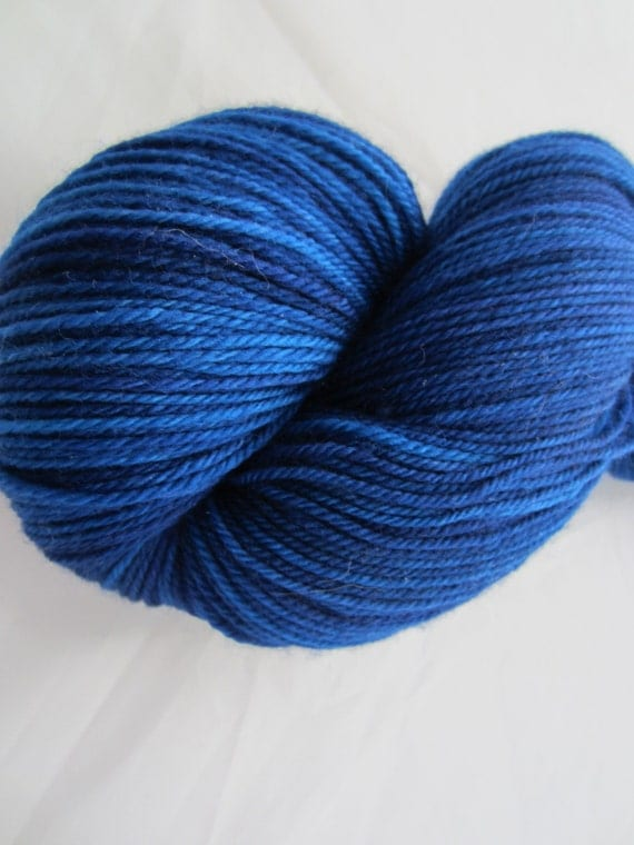 Sapphires - Dyed to Order - Hand Dyed - Merino Wool Yarn - Fingering Weight