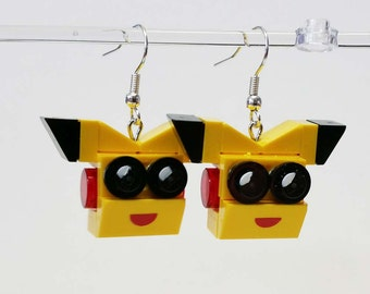 Pika head Earrings