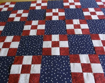 Red White and Blue Quilt Top Kits