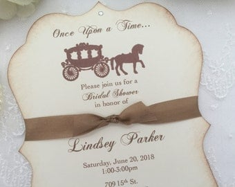 Once Upon a Time Invitations Bridal Shower
