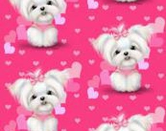 Pet Clothing Sweet and Simple Stylish Pajamas To Order with Spoonflower Fabric