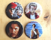 Set of 4 Movie Buttons!