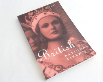 Film Book, British National Cinema, Softcover, by Sarah Street, Routledge Publ, London, 232 pages, 30 photos, film buff gift,