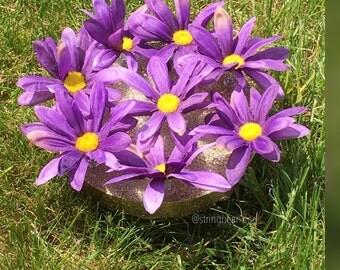 Push Pin Purple Daisy