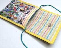 Fused Plastic Bag Confetti Day Pouch