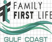 First Family Life Custom Digitized Embroidery Design (private listing)