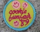 1989 Girl Scour Cookie Fun Fair Patch