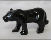 Black Onyx Panther Spirit Totem Animal Carved Panther Gifts for Home Trendy Office Décor Birthday Gifts Protection Stone Gifts for Him