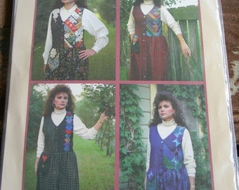 "Mary's Patterns ""Meadowland Jumpers"" Multisized and Uncut"