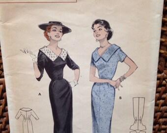 1950's Butterick sheath pattern
