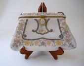 Gorgeous E. Grillot Purse, Micro Beaded Handbag, Paris France