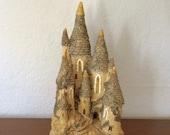 Fairytale Castle, David Winter Cottages, Vintage, Whimsy, Home Decor