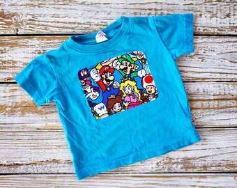 Nintendo Characters Tee - 6 months