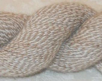 Alpaca Yarn, White and Fawn!