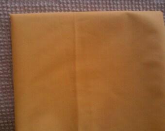 Vintage Cotton  Quilt Fabric  Lemon Yellow