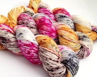 Dyed to Order - Sly Fox - Superwash Merino Worsted, DK or Fingering Sock Yarn  - Vivid Yarn Studio