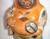 God of Contentment and Happiness Hotei Figurine