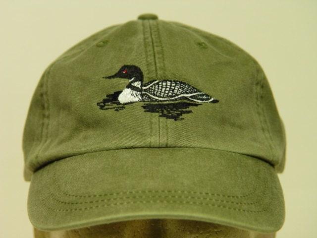 Loon Bird Hat One Embroidered Wildlife Cap Price