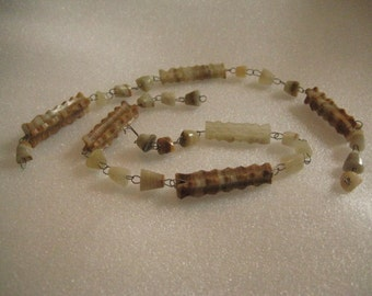 Banded Agate Chunks and Beads for Repair Repurpose and Jewelry Design