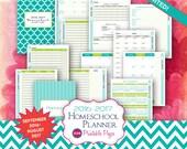 BIG Printable Homeschool Planner | September 2016 - August 2017 | UPDATED