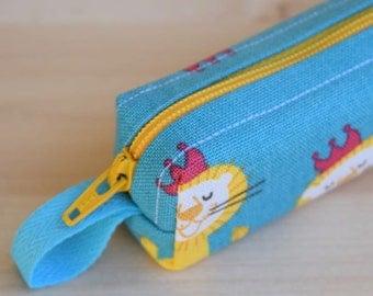 Lion King Bitty Bag (petite pencil or makeup case)