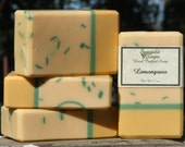 Lemongrass Handmade Cold Process Soap