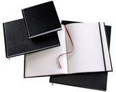 MD 9x6 Black sketchbook REFILL for Binding Bee leather cover