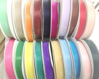 20 rolls for 20.00....each one is 3/8 inch x 25 yds (75 ft) Sheer ORGANZA