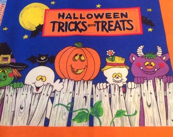 Halloween Fabric Book