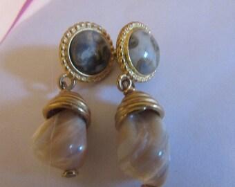 vintage mother pearl clip