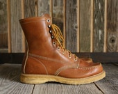 RESERVED Leather Winter Work Boots