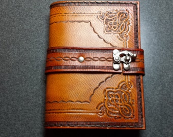 Old World Handcarved Leather Journal