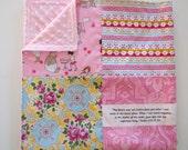 32x32 Bears Scripture Baby Minky Blanket