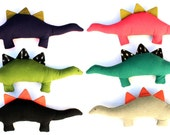 Pinxx the Dinosaur-Color Blocked Linen Plush toy, proceeds benefits charity