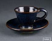 Espresso Cup and Saucer (Demitasse)